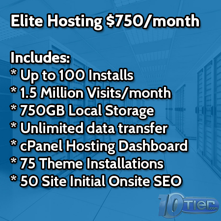 WordPress Elite Hosting
