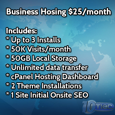 WordPress Business Hosting