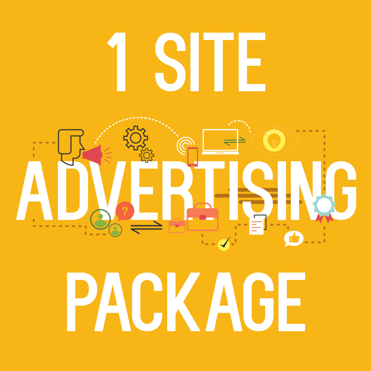 1 site advertising package