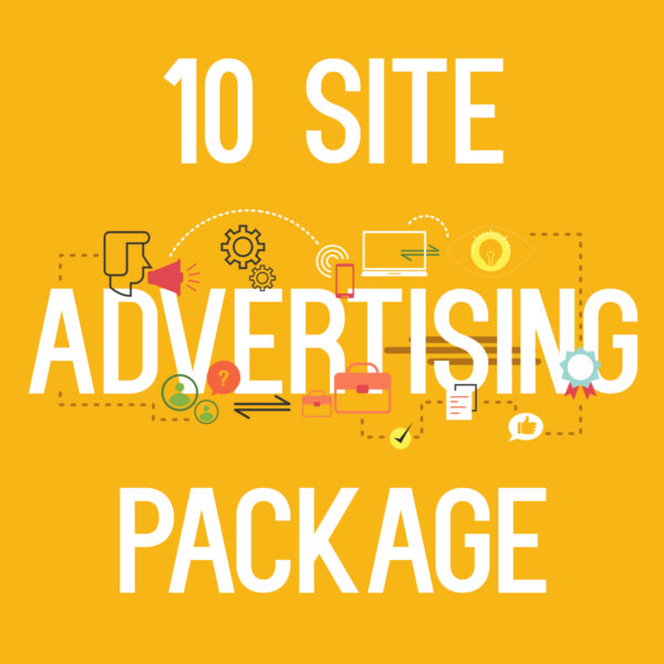 10 site advertising package