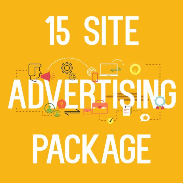 15 site advertising package