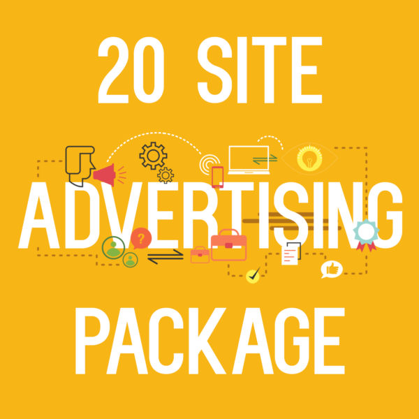 20 site advertising package